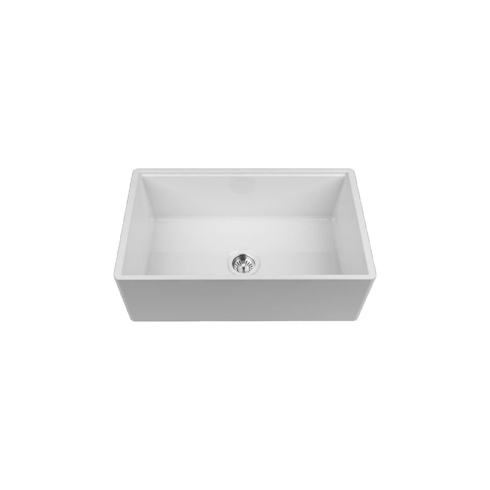 High-quality sink Louis Le Grand I - single bowl, ceramic - 2