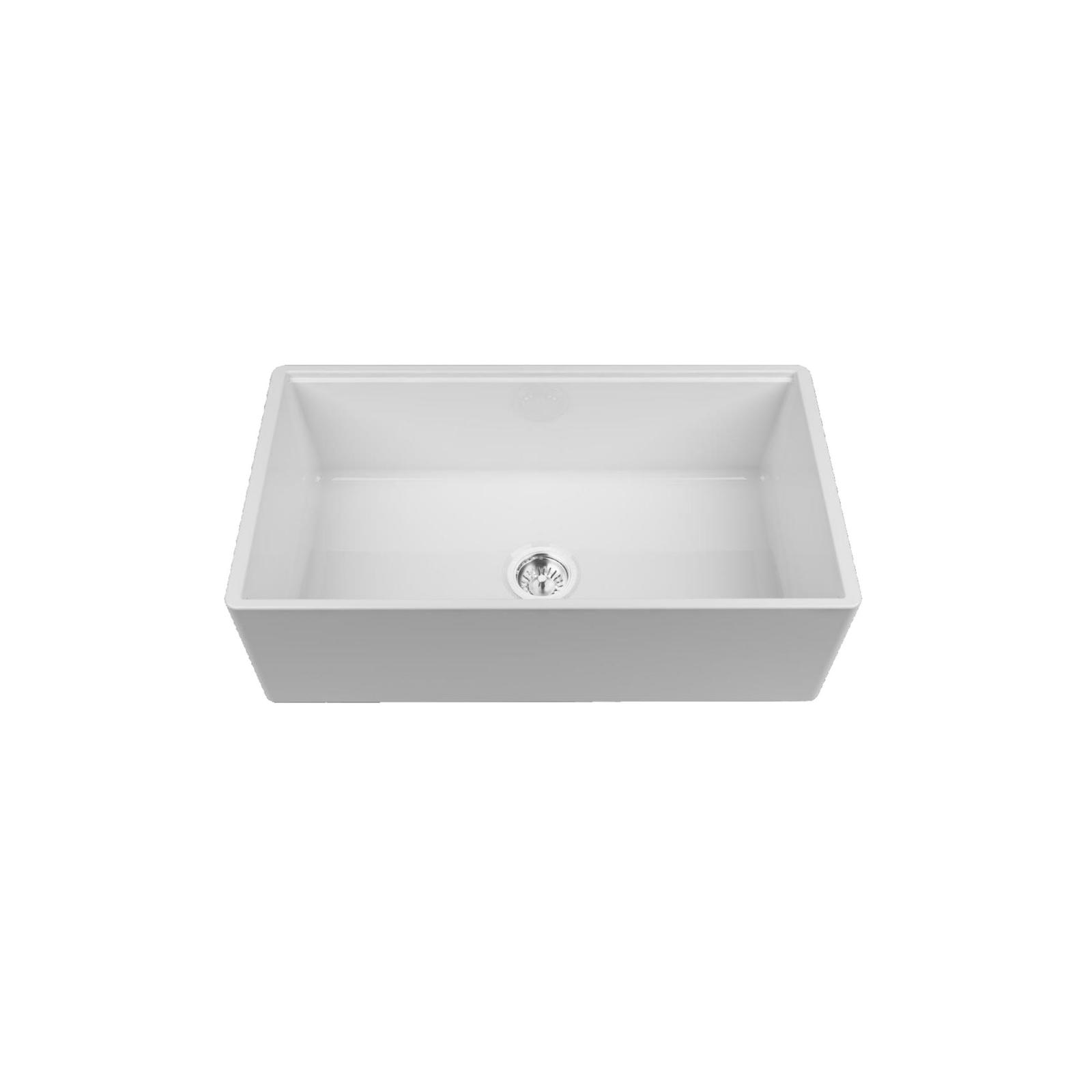 High-quality sink Louis Le Grand III - single bowl, ceramic - 2
