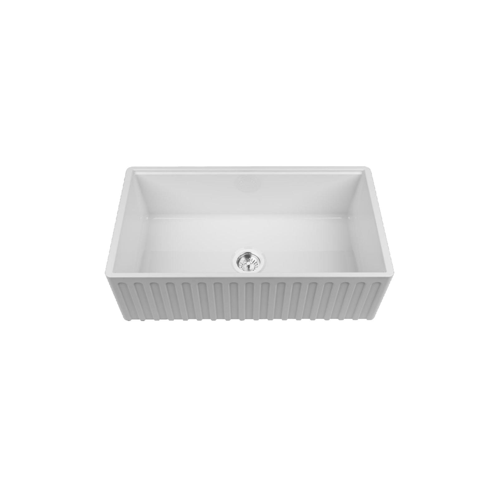 High-quality sink Louis Le Grand III - single bowl, ceramic