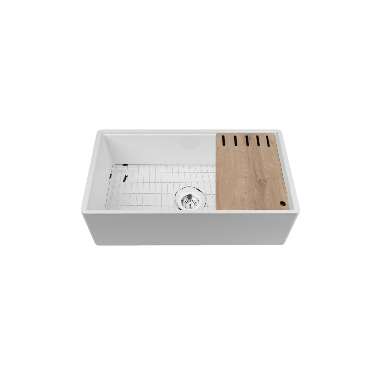 High-quality sink Louis Le Grand III - single bowl, ceramic - 3
