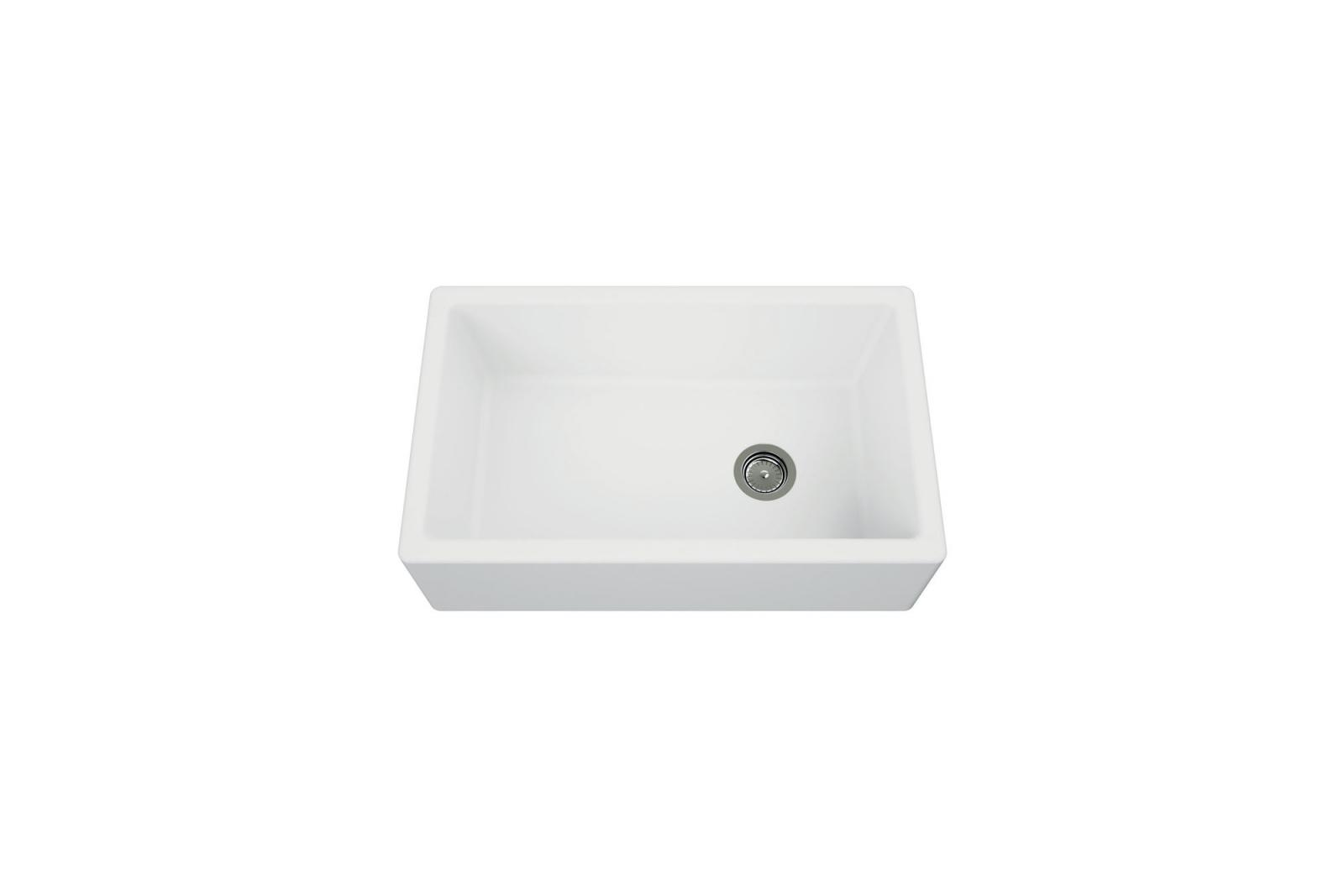 High-quality sink Philippe granit white - one bowl