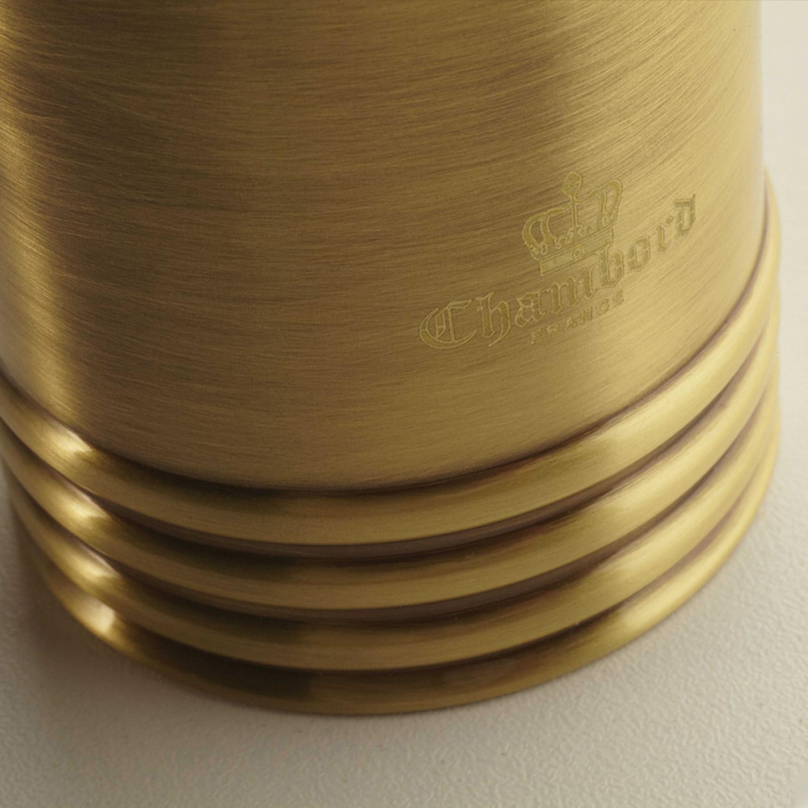 High-quality single lever tap Clémence - Bronze - ambience 1