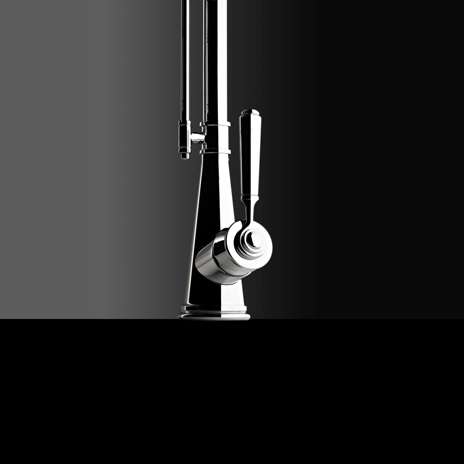 High-quality single lever tap Blaise - pull out spray - Chrome - ambience 2